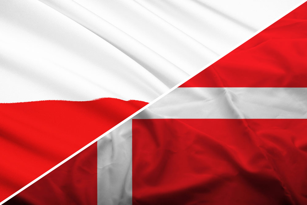 Se de bedste og højeste odds på Danmark mod Polen